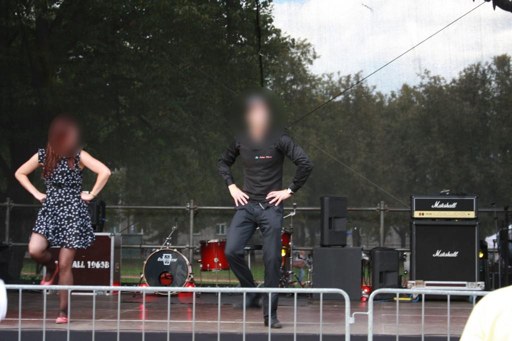 Renginių vedėjas šokių mokytojas