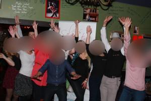 SalsosRitmu šokių pamoka MOJITOS kokteilių bare