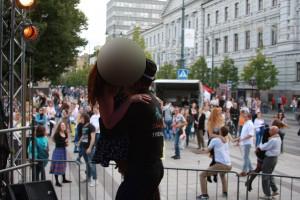 Klubinė šokių pamoka Vilniuje