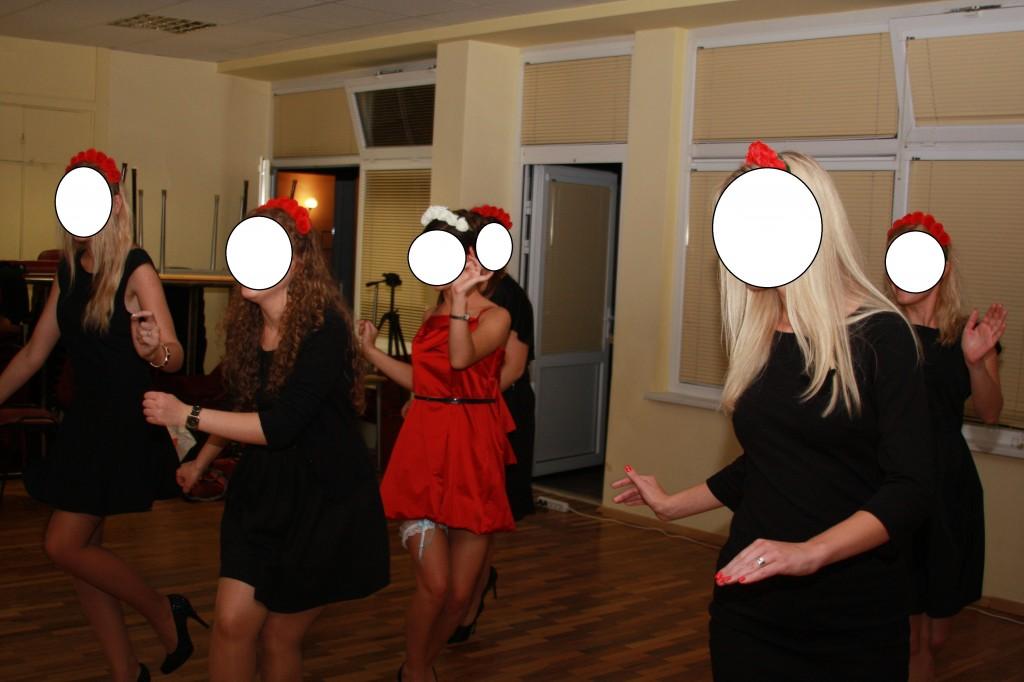 Striptizo pamoka mergvakariui Klaipedoje